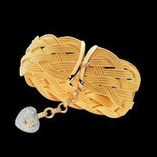 Wellendorff Armband mit Anhänger Seidenherz 3.4660_GG