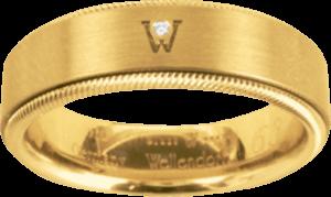 Ring Wellendorff Brillant-Adonis aus 750 Gelbgold mit 1 Brillant (0,02 Karat)