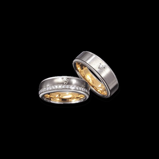 Ring Wellendorff Brillant-Adonis aus 750 Weißgold mit 1 Brillant (0,02 Karat) bei Brogle