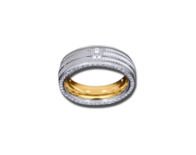 Ring Wellendorff Brillant-Eva aus 750 Weißgold mit mehreren Brillanten (0,58 Karat) bei Brogle