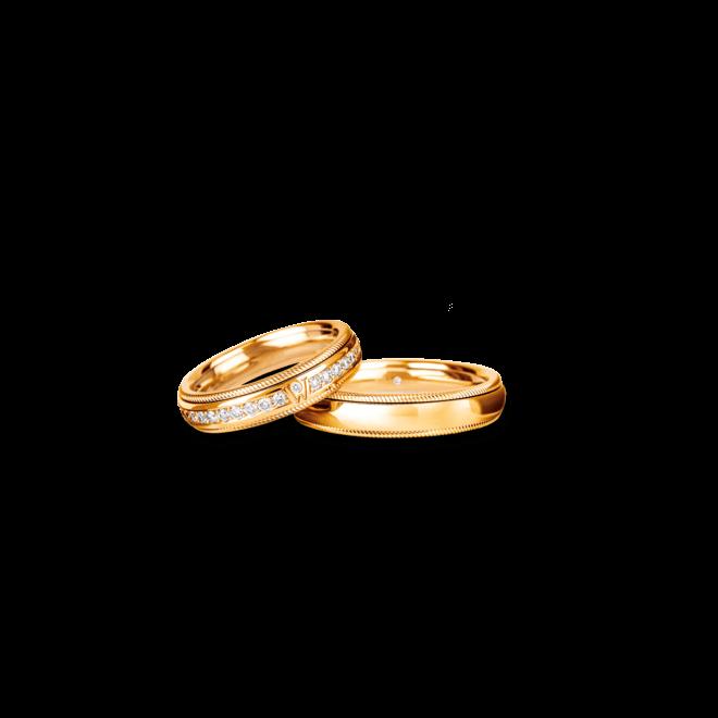 Ring Wellendorff Brillant-Julia aus 750 Gelbgold mit mehreren Brillanten (0,58 Karat) bei Brogle