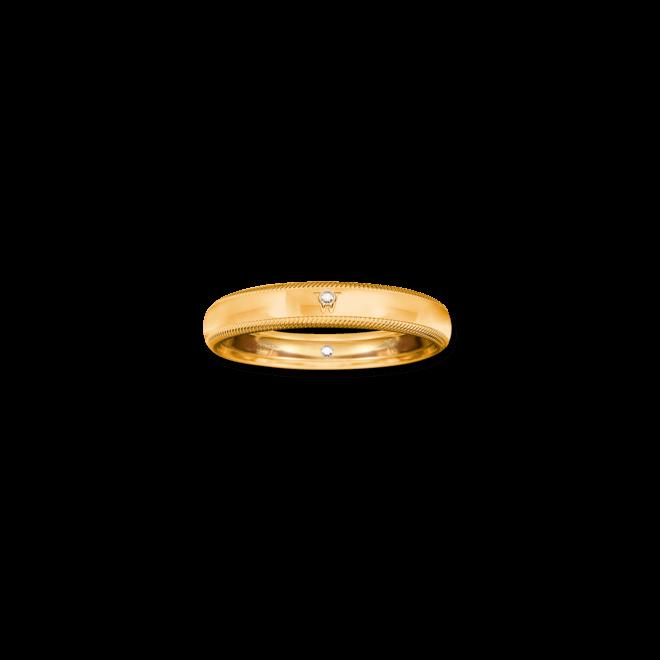 Ring Wellendorff Brillant-Romeo aus 750 Gelbgold mit 2 Brillanten (0,01 Karat) bei Brogle