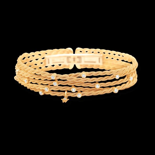 Armband Wellendorff Brillantspiel aus 750 Gelbgold mit mehreren Brillanten (0,56 Karat) bei Brogle