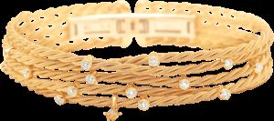 Armband Wellendorff Brillantspiel aus 750 Gelbgold mit mehreren Brillanten (0,56 Karat)