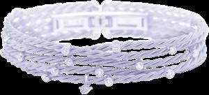 Armband Wellendorff Brillantspiel aus 750 Weißgold mit mehreren Brillanten (0,56 Karat)