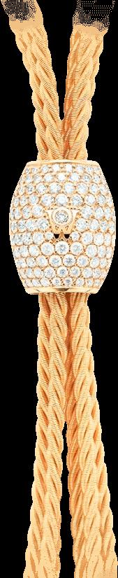 Collier Wellendorff Brillantverführung aus 750 Gelbgold mit mehreren Brillanten (5,21 Karat)