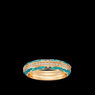 Wellendorff Ring Wahres Glück Aqua 6.7112_GG