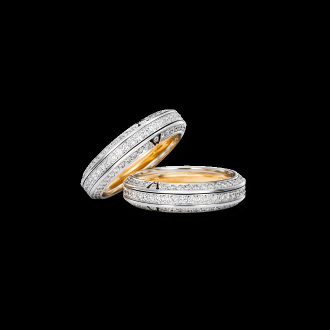 Ring Wellendorff Wahres Glück Diamant aus 750 Weißgold mit mehreren Brillanten (1,194 Karat) bei Brogle