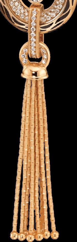 Anhänger Wellendorff Wahres Glück Goldquaste mit Öse aus 750 Gelbgold mit mehreren Brillanten (0,2 Karat)