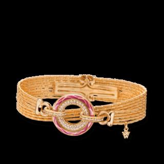 Wellendorff Armband mit Anhänger Wahres Glück Granat 3.4724_GG