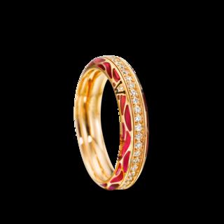Wellendorff Ring Wahres Glück Granat 6.7109_GG