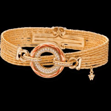 Wellendorff Armband mit Anhänger Wahres Glück Koralle 3.4723_GG