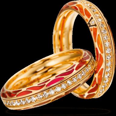 Wellendorff Ring Wahres Glück Koralle 6.7108_GG