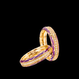 Wellendorff Ring Wahres Glück Lavendel 6.7110_GG