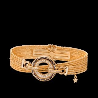 Wellendorff Armband mit Anhänger Wahres Glück Onyx 3.4717_GG
