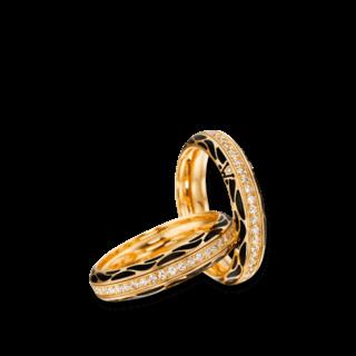 Wellendorff Ring Wahres Glück Onyx 6.7114_GG