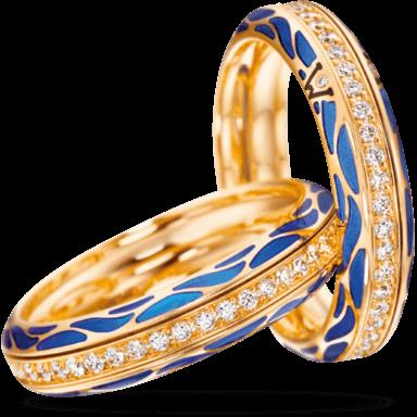 Wellendorff Ring Wahres Glück Ozean 6.7111_GG