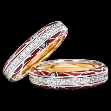Wellendorff Ring Wahres Glück Rubin 6.7141_WG