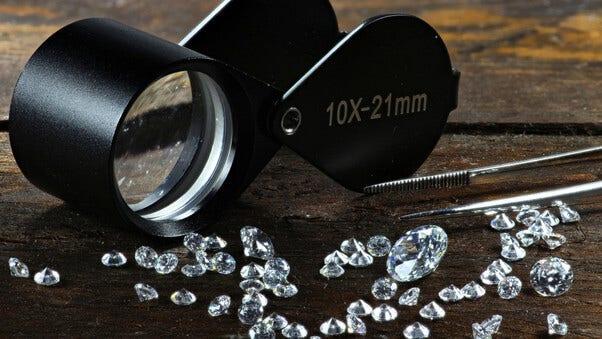 Wie erkennt man konfliktfreie Diamanten?