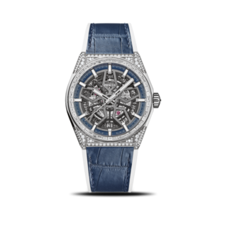 Zenith Herrenuhr Defy Classic Jewelry 41mm 32.9001.670/78.R590