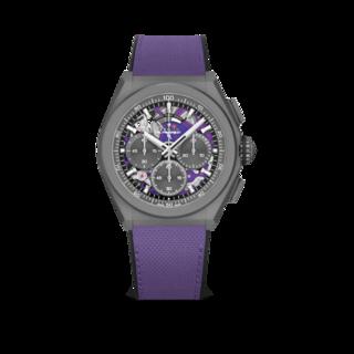 Zenith Herrenuhr Defy El Primero 21 Ultraviolet 44mm 97.9001.9004/80.R922