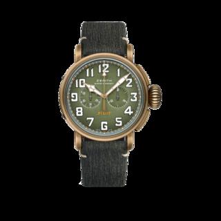 Zenith Herrenuhr Pilot Type 20 Chronograph Adventure 45mm 29.2430.4069/63.I001
