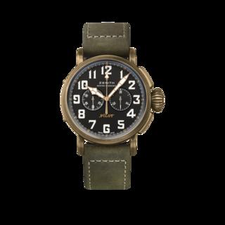 Zenith Herrenuhr Pilot Type 20 Chronograph Extra Special 45mm 29.2430.4069/21.C800