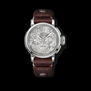 Zenith Herrenuhr Pilot Type 20 Chronograph Silver 05.2430.4069/17.I011