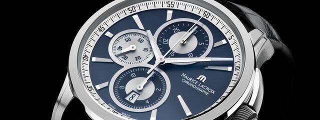 Zifferblatt Pontos Chronograph Detail