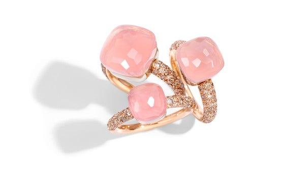 Zu den Ringen Nudo goes Pink