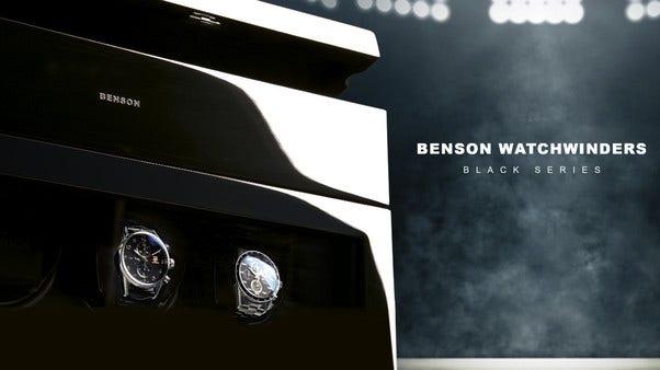 Zu den Uhrenbewegern von Benson