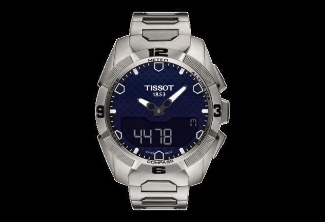 Zur Tissot Uhr aus Titan